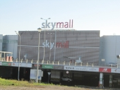 Устройство железобетонного перекрытия в ТЦ SkyMall